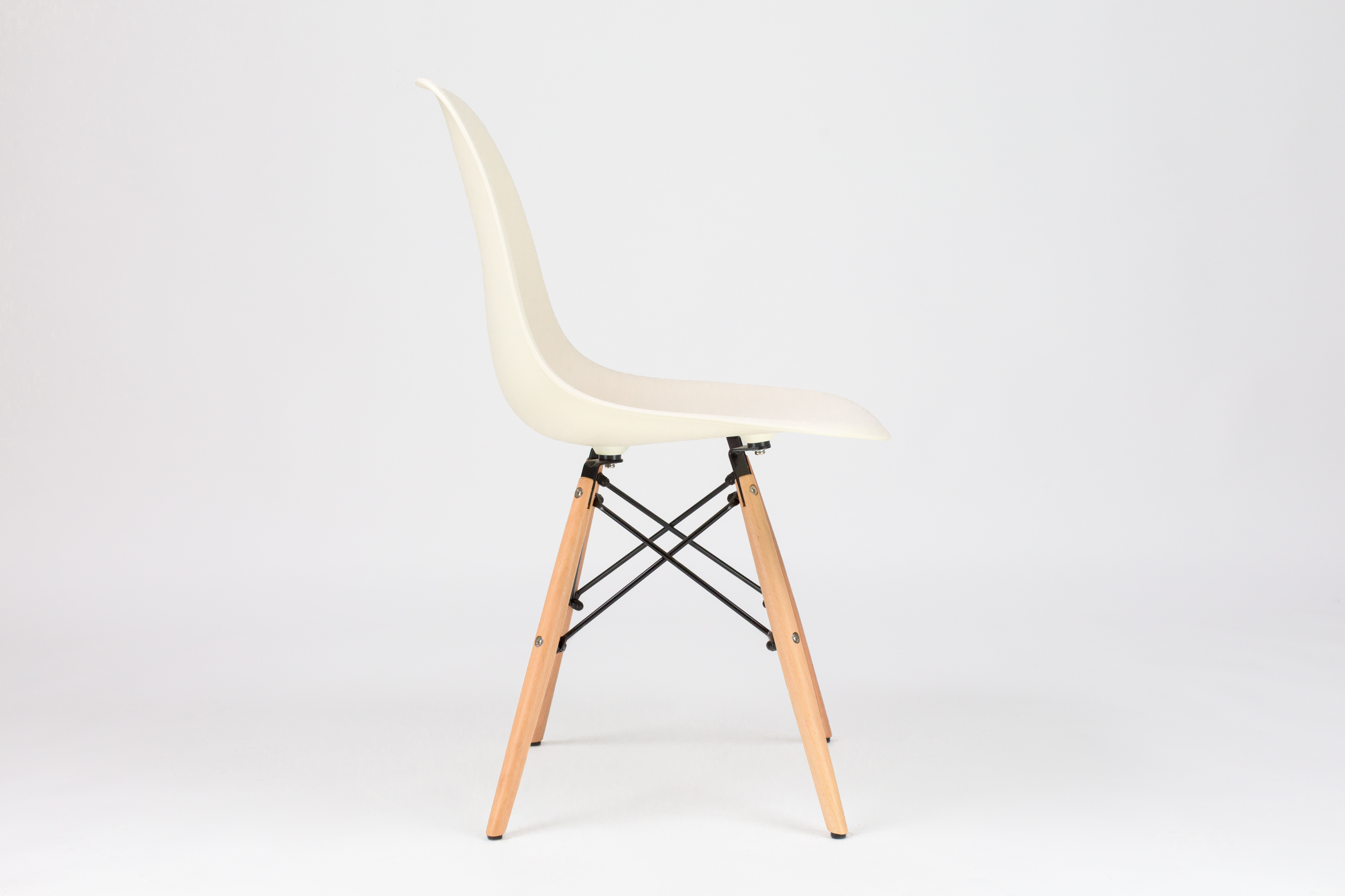 Outstanding Dining Plastic Eiffel Chair Off White Fusionwell Co Uk Onthecornerstone Fun Painted Chair Ideas Images Onthecornerstoneorg
