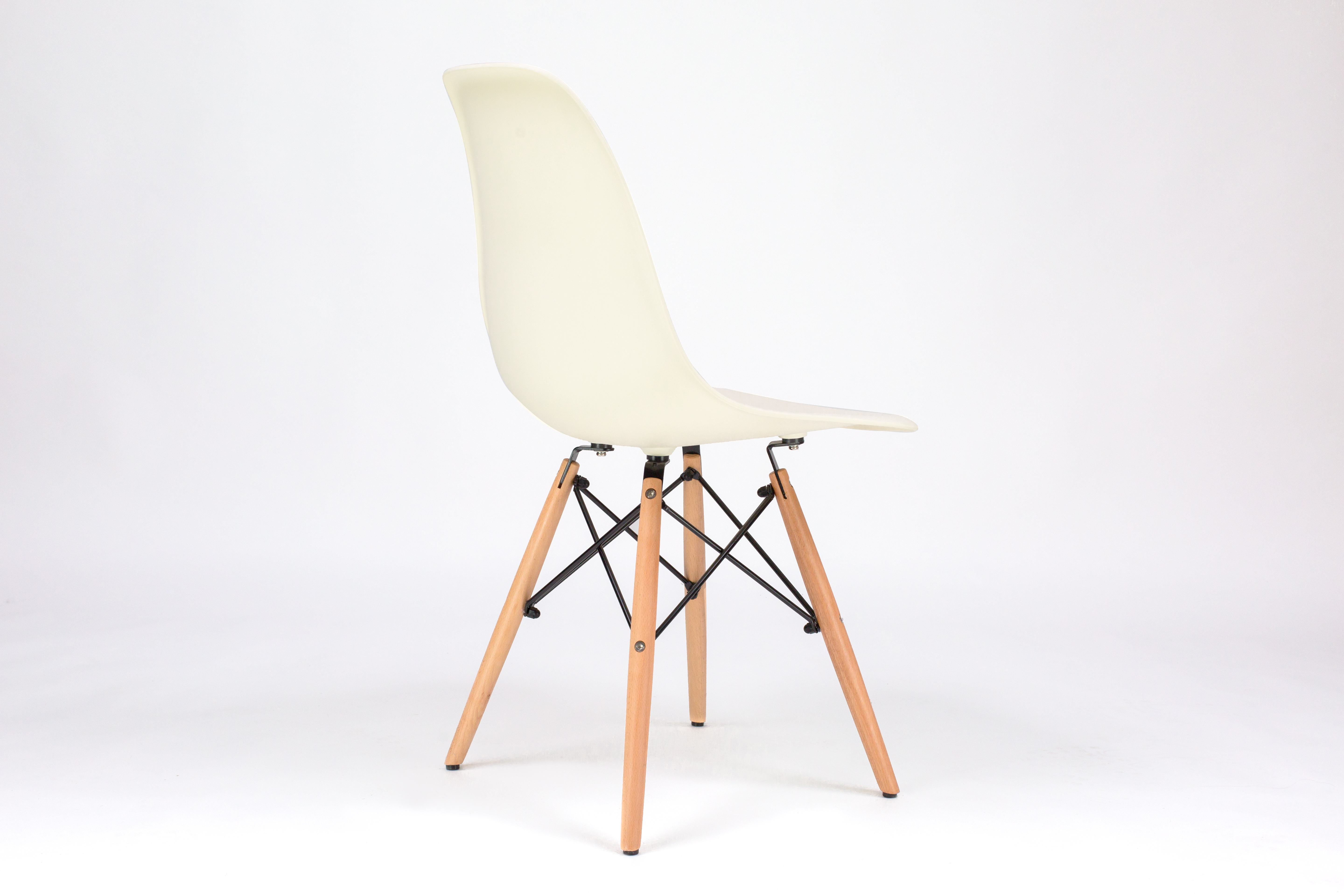 Admirable Dining Plastic Eiffel Chair Off White Fusionwell Co Uk Onthecornerstone Fun Painted Chair Ideas Images Onthecornerstoneorg
