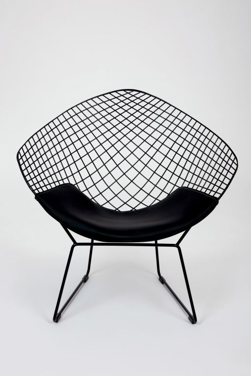 Marvelous Modern Chair Black Metal Wire Lounge Chair 2 Colours Caraccident5 Cool Chair Designs And Ideas Caraccident5Info