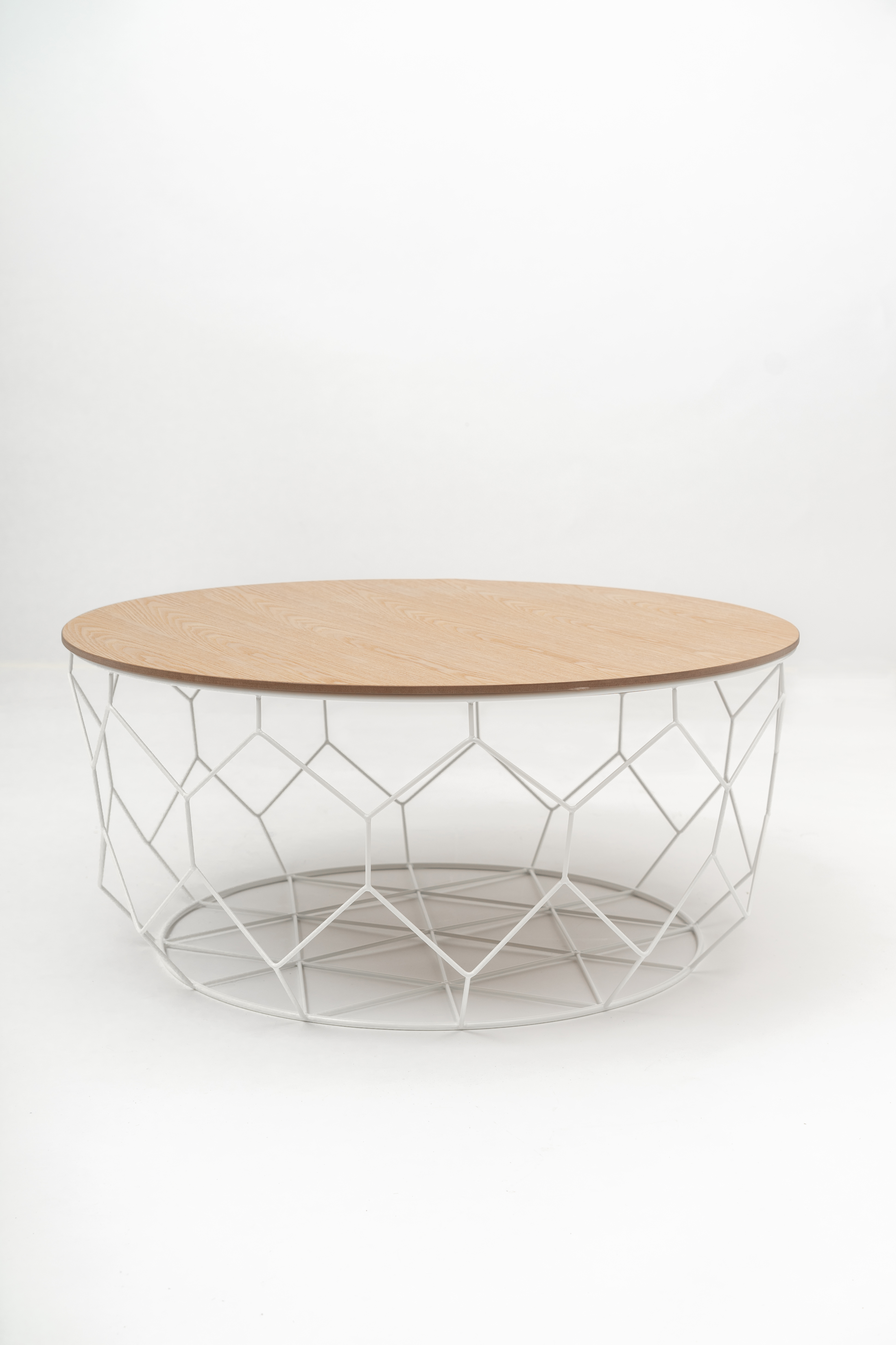 Picture of: Basket Coffee Table With Removable Wood Top Fusionwell Co Uk